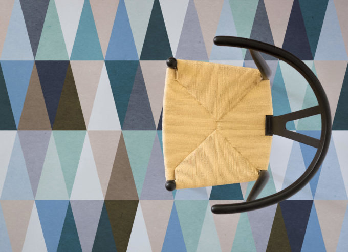 A set of striking patterns, modern designs for floors by Atrafloor