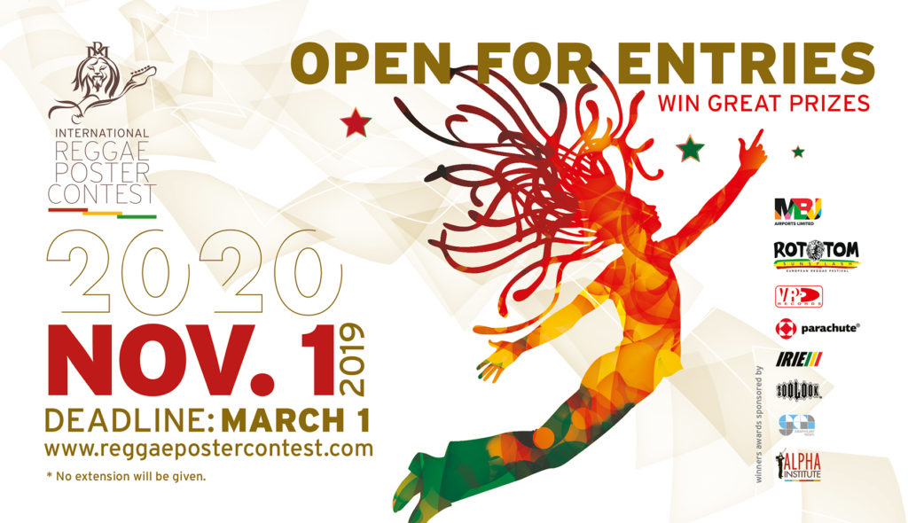 The International Reggae Poster Contest Opens for Entries