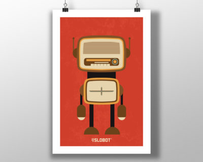 The Mid Century Radio and TV Robot Series