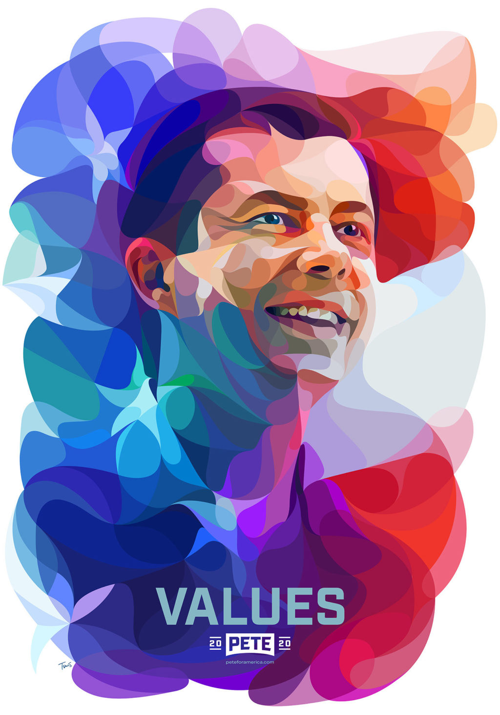 Pete For America Portraits by Charis Tsevis