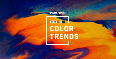 Shutterstock's 2020 Color Trends Report Predicts Colors on the Rise