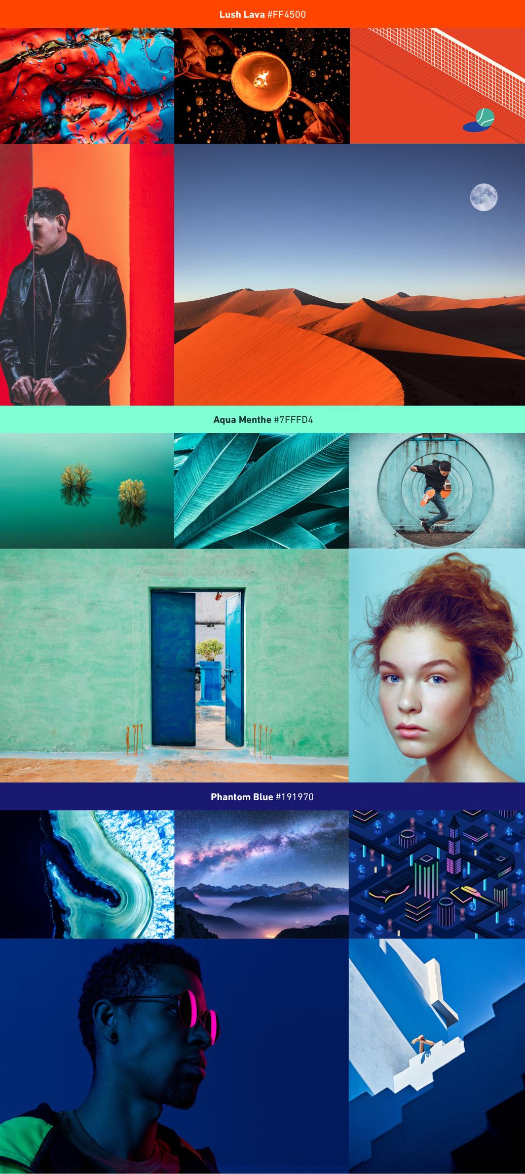 Shutterstock's 2020 Color Trends