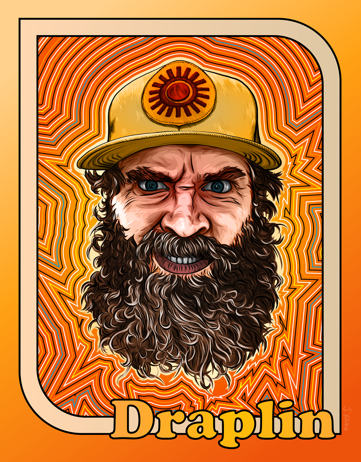 Aaron Draplin by Jessie Young