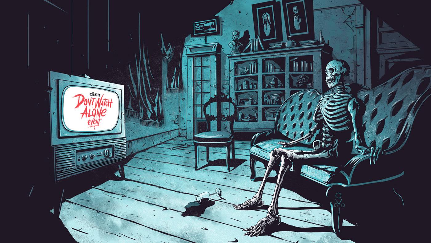 Don't watch alone by Christophe Starace