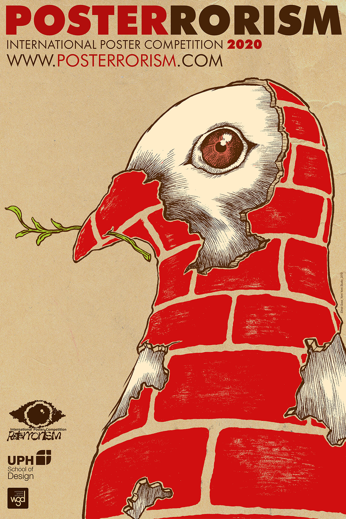 posterrorism2020 poster design by Elmer Sosa