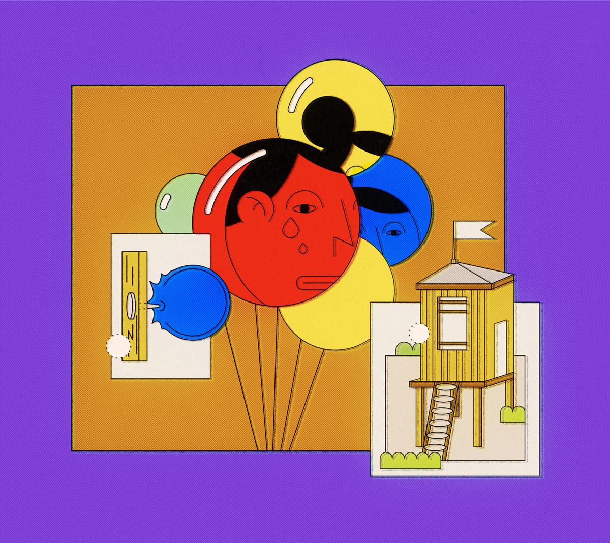 Balloons byRafał Kwiczor.